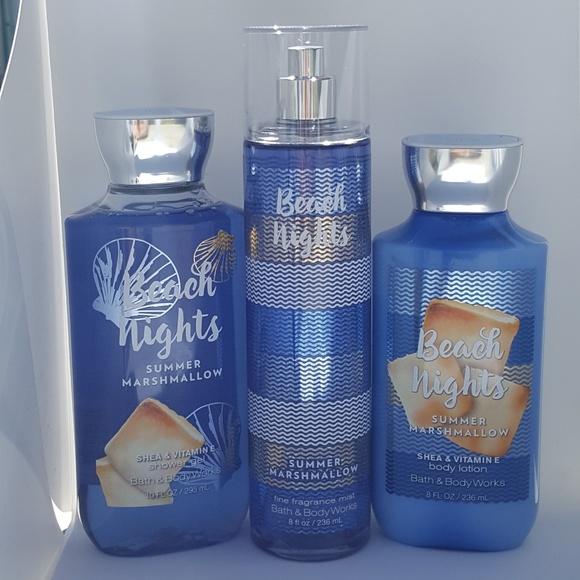 581bf4867bd77 Bath   Body Works Beach Nights 3 Piece Set